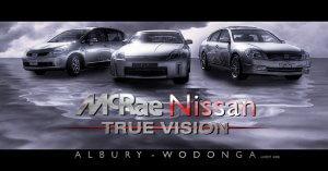 McRae Nissan Silver Lightning