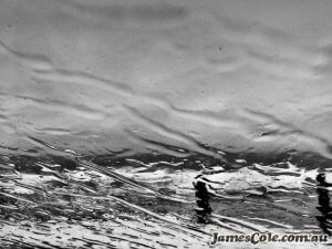 Awash - Black & White Photography by James Cole