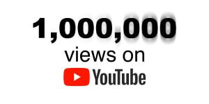 1,000,000 Views on YouTube
