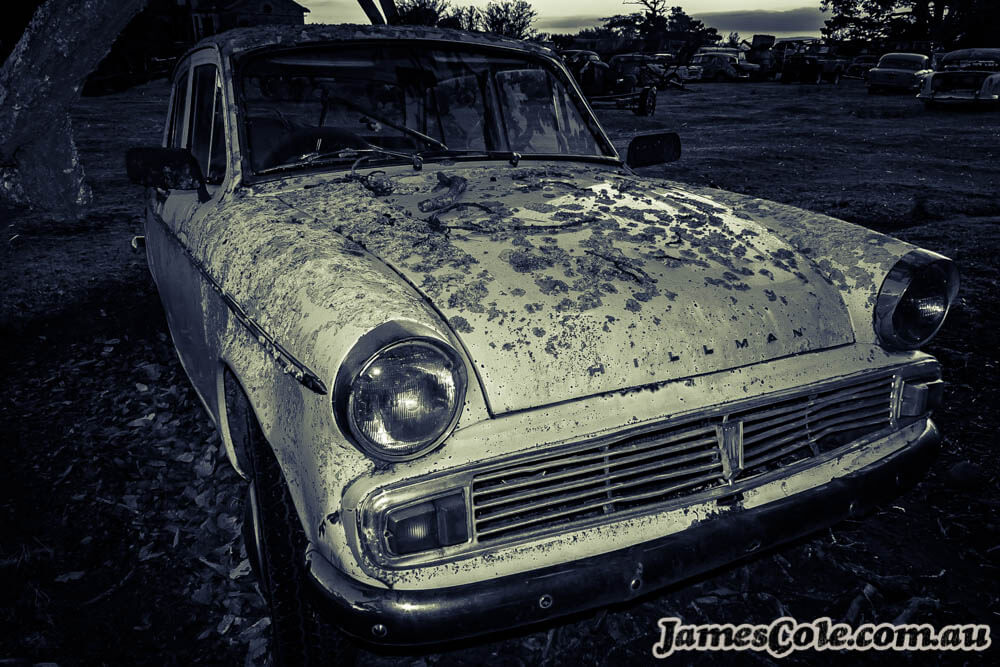 Hillman Decay - Beautiful Decay Photography by James Cole