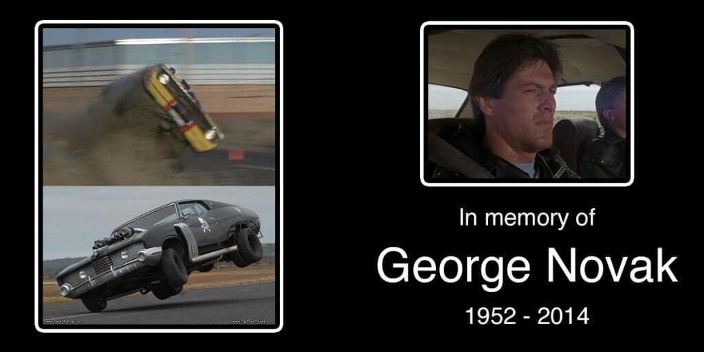 In memory of George Novak 1952 - 2014