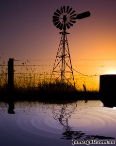 The Great Aussie Windmill - Landscape Photography by James Cole