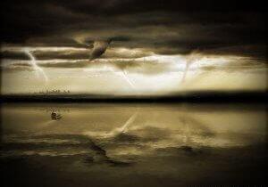 Drowning Solitude - Apocalyptic Digital Artwork