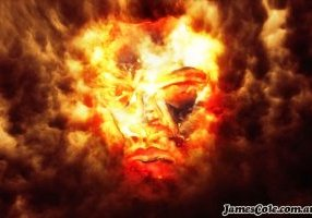 Fire God - Fantasy Art