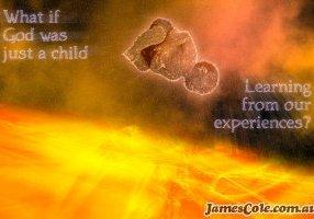 God-Child - Digital Artwork by James Cole