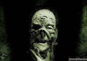 Grumpy - Horror Zombie Artwork by James Cole