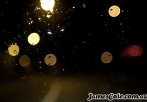 Highway Bokeh - Abstract Photography by James Cole