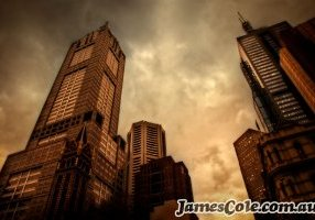Monoliths of Melbourne - Moody Cityscapes Photography by James Cole