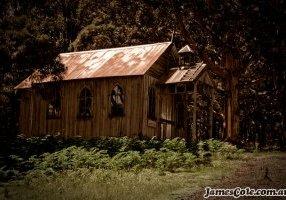 A Western Rickety Church