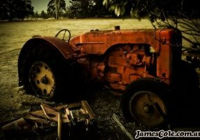 Tractor - Abandoned Photography by James Cole